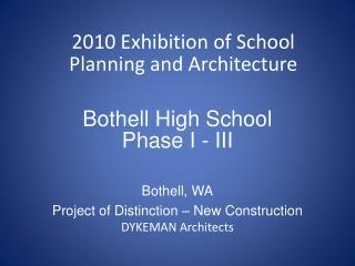 Bothell High School Phase I - III