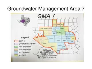 Groundwater Management Area 7