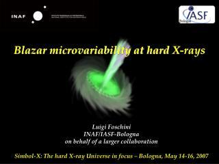 Blazar microvariability at hard X-rays