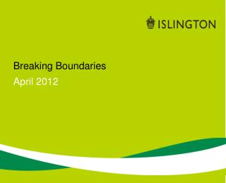 Breaking Boundaries April 2012