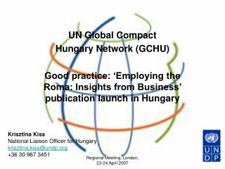 UN  Global Compact  Hungary  Network (GC HU )