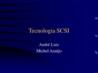Tecnologia SCSI