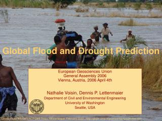 Global Flood and Drought Prediction
