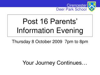 Thursday 8 October 2009  7pm to 8pm