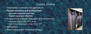 Course Outline