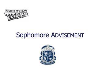 Sophomore A DVISEMENT