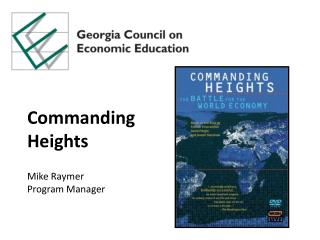 Commanding Heights Mike  Raymer Program Manager