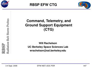 Command, Telemetry, and Ground Support Equipment (CTG)