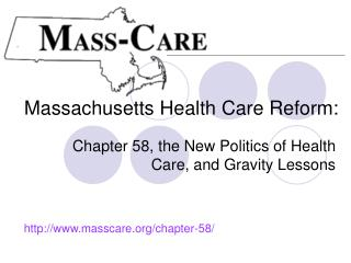 Massachusetts Health Care Reform: