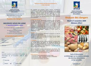 Cycle d'information  et d'échanges sur la maîtrise sanitaire des denrées alimentaires