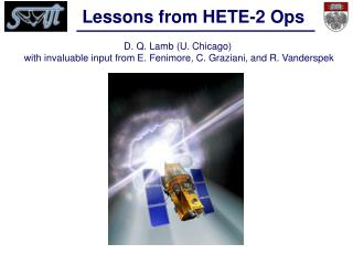 Lessons from HETE-2 Ops