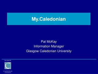 My.Caledonian