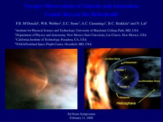 Voyager Observations of Galactic and Anomalous Cosmic Rays in the Heliosheath