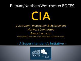 Putnam/Northern Westchester BOCES