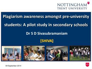 Plagiarism awareness amongst pre-university students: A pilot study in secondary schools