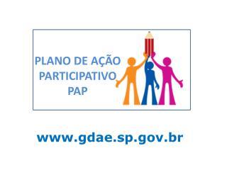 PLANO DE AÇÃO PARTICIPATIVO PAP