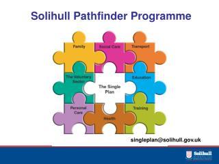Solihull Pathfinder Programme