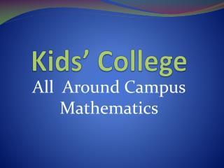 Kids� College
