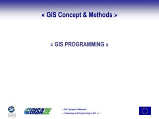 ��GIS Concept & Methods��