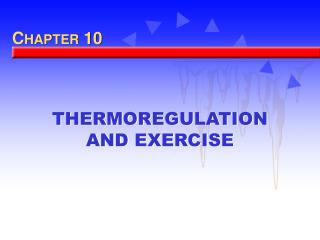 why is thermoregulation important Dr egbert herting, university clinic in schleswig-holstein, germany, explains the relevance of thermoregulation and why it is so critical.