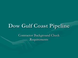 Dow Gulf Coast Pipeline