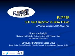 FLIPPER SEU Fault Injection in Xilinx FPGAs