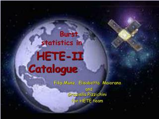 HETE-II  Catalogue