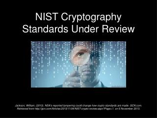 NIST Cryptography Standards Under Review