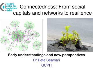 Connectedness: From social capitals and networks to resilience