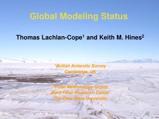 Global Modeling Status