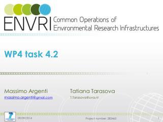 WP4 task 4.2