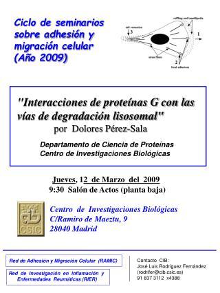 Red de Adhesión y Migración Celular  (RAMIC)