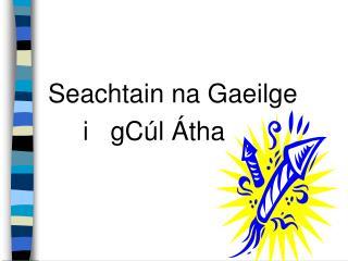 Seachtain na Gaeilge  i   gCúl Átha