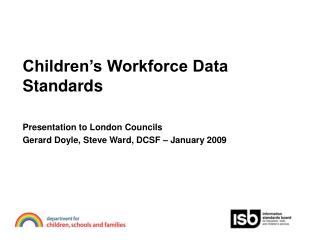 Children's Workforce Data Standards