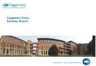 Capgemini China Kunshan Branch