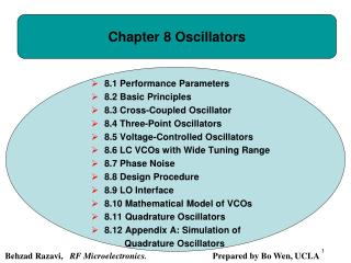 Chapter 8 Oscillators