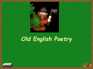 Old English Poetry