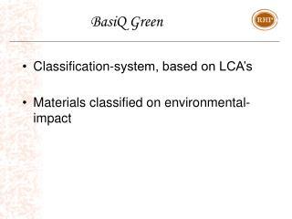 BasiQ Green