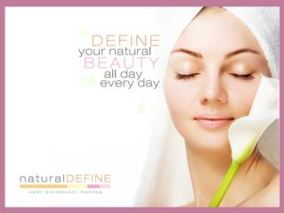 Semi Permanent Makeup & Acne treatments From Natural Define