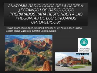 ANATOM A RADIOL GICA DE LA CADERA:  ESTAMOS LOS RADI LOGOS PREPARADOS PARA RESPONDER A LAS PREGUNTAS DE LOS CIRUJANOS OR