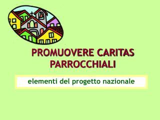 PROMUOVERE CARITAS PARROCCHIALI