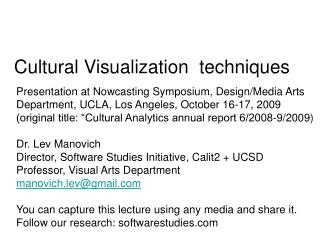 Presentation at Nowcasting Symposium, Design