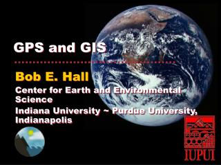 GPS and GIS