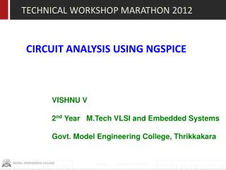 CIRCUIT ANALYSIS USING NGSPICE