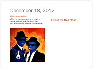 December 18, 2012