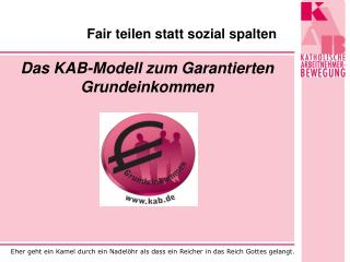 Fair teilen statt sozial spalten
