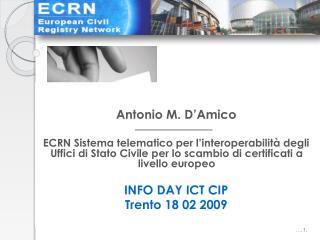 Antonio M. D'Amico