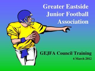 Greater Eastside Junior Football Association