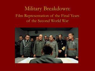 Military Breakdown: