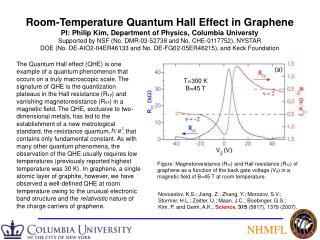 Room-Temperature Quantum Hall Effect in Graphene